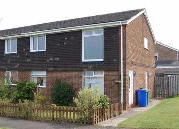Thumbnail 2 bed flat for sale in Portland Gardens, Cramlington