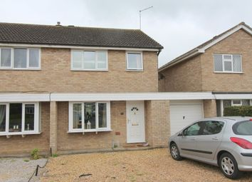 Thumbnail 3 bed semi-detached house to rent in Towning Close, Deeping St. James, Peterborough
