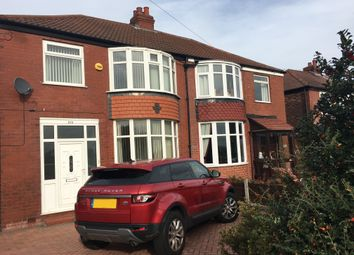 Thumbnail 3 bedroom semi-detached house to rent in Didsbury Road, Heaton Mersey, Stockport