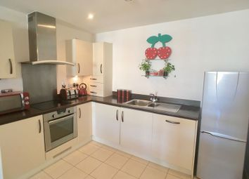 Thumbnail 1 bed flat for sale in Penstone Court, Chandlery Way, Cardiff
