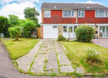 Thumbnail 4 bedroom end terrace house for sale in Dove Rise, Oadby, Leicester