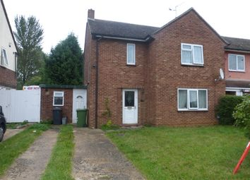 Thumbnail 3 bedroom end terrace house for sale in Chestnut Avenue, Dogsthorpe, Peterborough