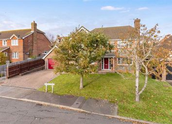 Thumbnail 4 bed detached house for sale in Duchess Drive, Seaford, East Sussex
