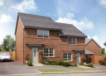 "Thumbnail 2 bedroom semi-detached house for sale in ""Roseberry"" at Upper Chapel, Launceston"