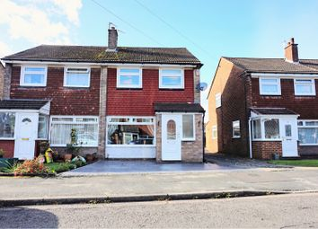 Thumbnail 3 bed semi-detached house for sale in Benbecula Way, Manchester
