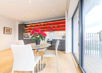 Thumbnail 2 bed flat for sale in Bridgewater House, City Island, Wharfside Road