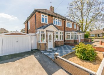 Thumbnail 3 bed semi-detached house for sale in Durston Close, Leicester