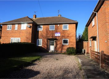 Thumbnail 4 bed semi-detached house to rent in New Ashby Road, Loughborough