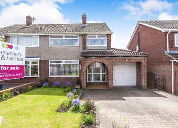 Thumbnail 3 bed semi-detached house for sale in Ingham Grove, Hartlepool