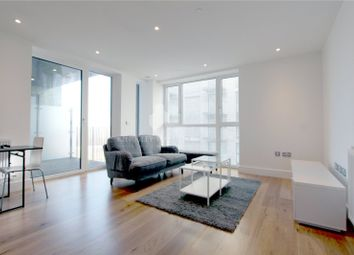 Thumbnail 1 bed flat to rent in Centurion Tower, Royal Gateway, London