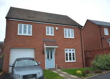 Thumbnail 4 bed detached house to rent in Waverley Drive, Norton, Stoke-On-Trent