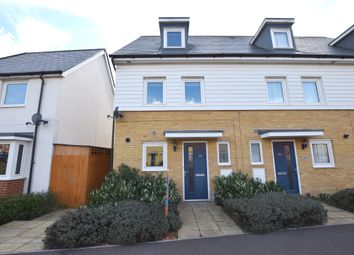 Thumbnail 3 bedroom end terrace house for sale in Bowhill Way, Harlow