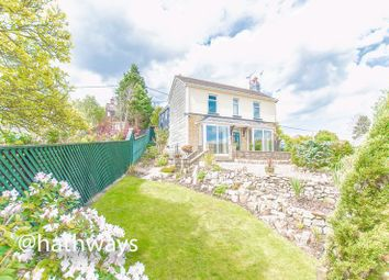 Thumbnail 4 bed detached house for sale in Lower Stoney Road, Garndiffaith, Pontypool
