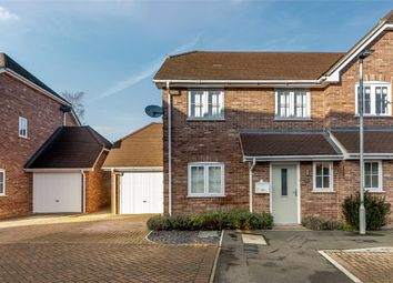 Thumbnail 3 bed semi-detached house for sale in Stowe Close, Padworth, Reading, Berkshire
