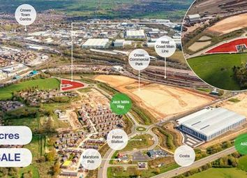 Thumbnail Land for sale in Crwe Commercial Park, Jack Mills Way, Crewe, Cheshire