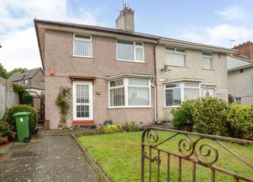 Thumbnail 3 bed semi-detached house for sale in Pemros Road, St. Budeaux, Plymouth