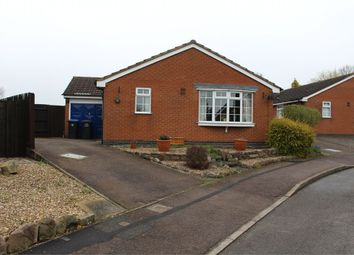 Thumbnail 2 bed detached bungalow for sale in Manor Farm Close, Broughton Astley, Leicester