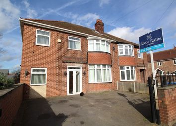 Thumbnail 5 bed semi-detached house for sale in Carlton Avenue, Worksop