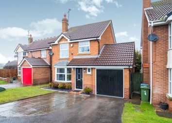 Thumbnail 3 bed detached house for sale in Swan Court, Gateford, Worksop