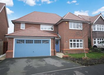 Thumbnail 4 bed detached house to rent in Oakland Way, Penymynydd, Chester