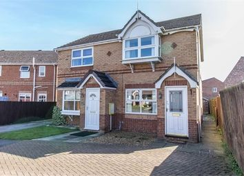 Thumbnail 2 bed semi-detached house for sale in Bennions Way, Catterick Village, North Yorkshire.