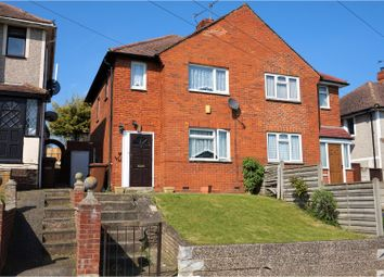 Thumbnail 3 bed semi-detached house for sale in Galahad Avenue, Rochester