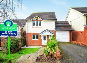 Thumbnail 3 bed detached house to rent in Calvados Park, Kingsteignton, Newton Abbot