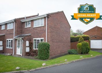 Thumbnail 3 bed semi-detached house for sale in Oak Farm Close, Walmley, Sutton Coldfield
