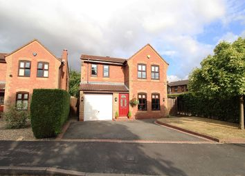 Thumbnail 4 bed detached house for sale in Brindley Close, Penkridge, Stafford