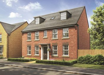 "Thumbnail 5 bedroom detached house for sale in ""Buckingham"" at Snowley Park, Whittlesey, Peterborough"