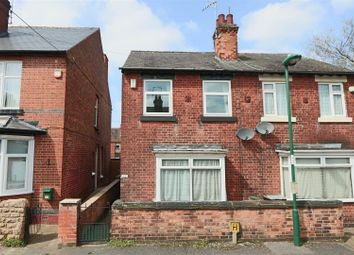 Thumbnail 3 bed semi-detached house for sale in Ford Street North, New Basford, Nottingham