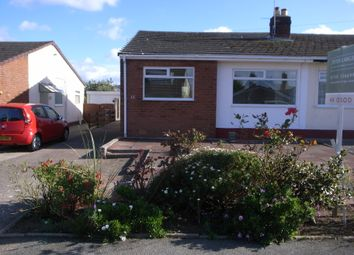 Thumbnail 2 bed semi-detached bungalow to rent in Lon Garnedd, Abergele