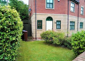 Thumbnail 3 bed end terrace house to rent in Hadfield Close, Manchester