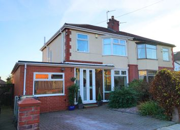 Thumbnail 4 bedroom semi-detached house for sale in Wilmslow Avenue, Bolton