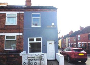 Thumbnail 2 bedroom end terrace house to rent in Haddon Street, Tibshelf, Alfreton