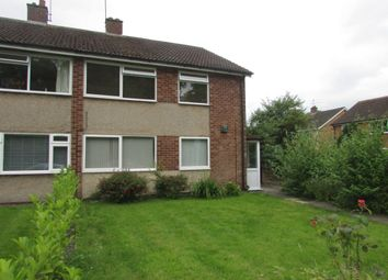 Thumbnail 2 bed maisonette to rent in St. Johns Close, Knowle, Solihull