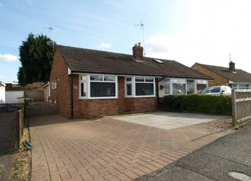 Thumbnail 2 bedroom bungalow for sale in Linford Avenue, Newport Pagnell, Buckinghamshire