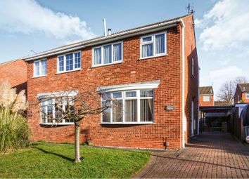 Thumbnail 2 bed semi-detached house for sale in Conway Drive, Shepshed