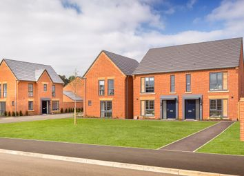"Thumbnail 3 bed terraced house for sale in ""Belvoir"" at Louisburg Avenue, Bordon"