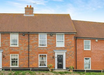Thumbnail 3 bed terraced house for sale in Chapel Road, Wrentham, Beccles