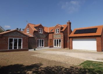 Thumbnail 4 bed detached house for sale in Mundesley, Norwich, Norfolk