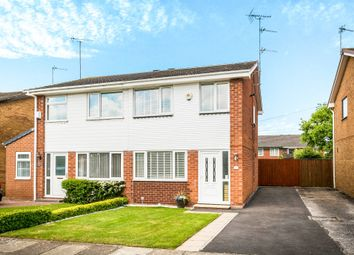 Thumbnail 3 bed semi-detached house for sale in Wellbrae Close, Saughall Massie, Wirral