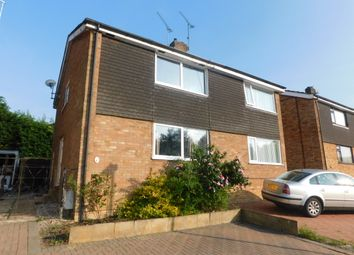 Thumbnail 3 bed semi-detached house for sale in Edgecomb, Stowmarket