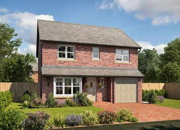 "Thumbnail 4 bed detached house for sale in ""Wellington"" at Mayfield Avenue, Throckley, Newcastle Upon Tyne"