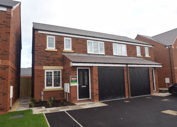 Thumbnail 4 bed semi-detached house to rent in Churchill Close, Newport