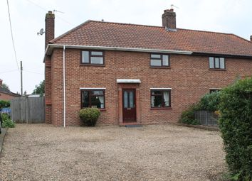 Thumbnail 3 bed semi-detached house for sale in Briar Road, Harleston, Norfolk