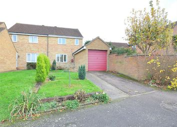 Thumbnail 3 bed semi-detached house for sale in Cob Place, Godmanchester, Huntingdon, Cambridgeshire