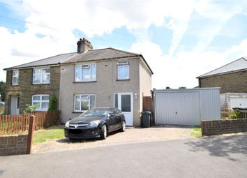 Thumbnail 3 bedroom semi-detached house for sale in Sweyne Road, Swanscombe, Kent