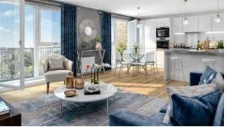 Thumbnail 3 bed flat for sale in Plot 46, The Pirie, Bonnington Mill, Off Newhaven Road, Edinburgh