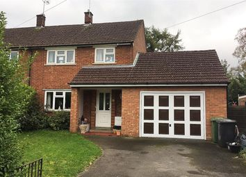 Thumbnail 3 bed semi-detached house to rent in Church Fields, Headley, Bordon